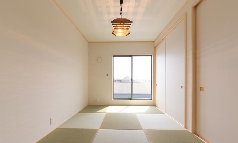 和室の要、畳と壁