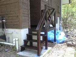 木製階段及び内部補修工事(上田市 K様) 施工後